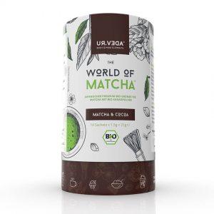 World of Matcha japanischer Bio Matcha Tee Cocoa